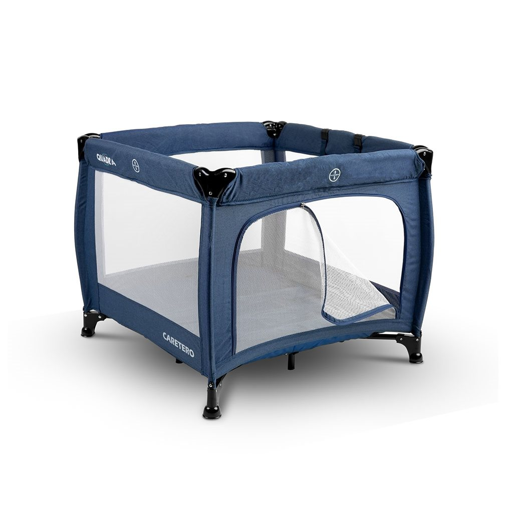 Dětská skládací ohrádka CARETERO Quadra blue
