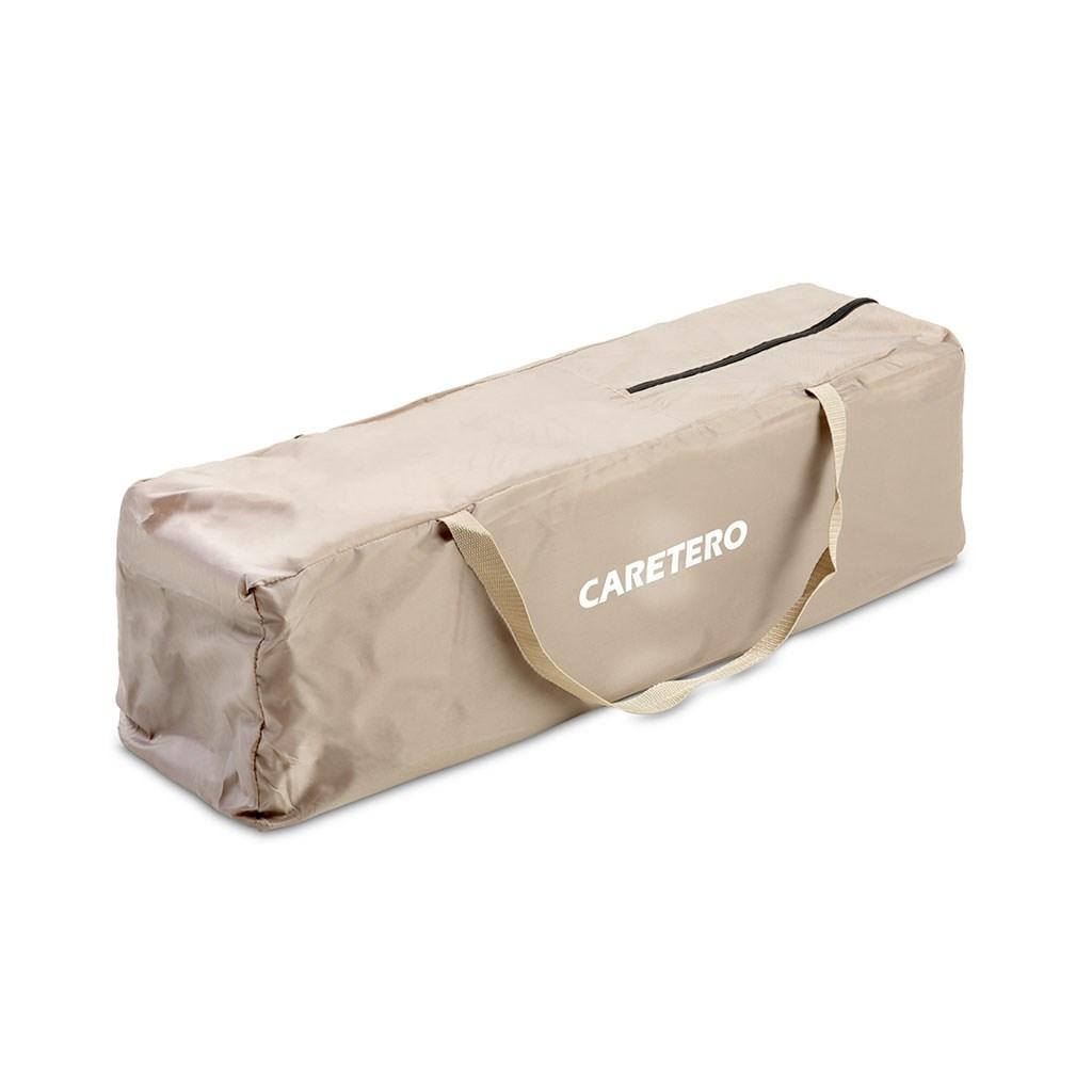 Dětská skládací ohrádka CARETERO Quadra brown