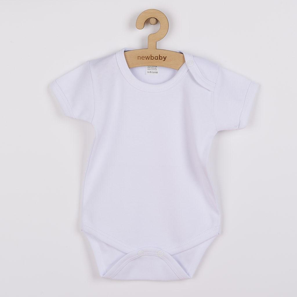 Body krátký rukáv New Baby Classic, Velikost: 80 (9-12m)