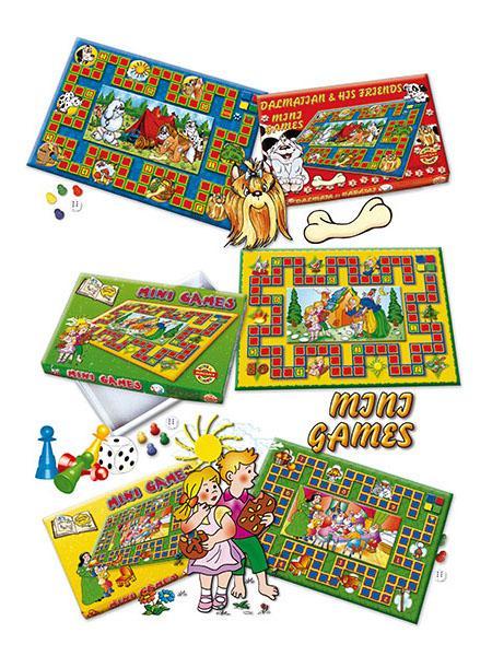 Stolní hra Mini Games Červená karkulka