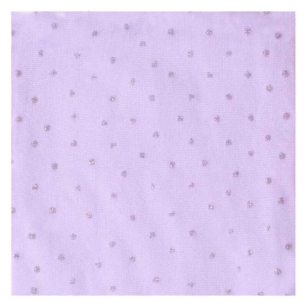 Punčocháče z mikrovlákna New Baby fialové