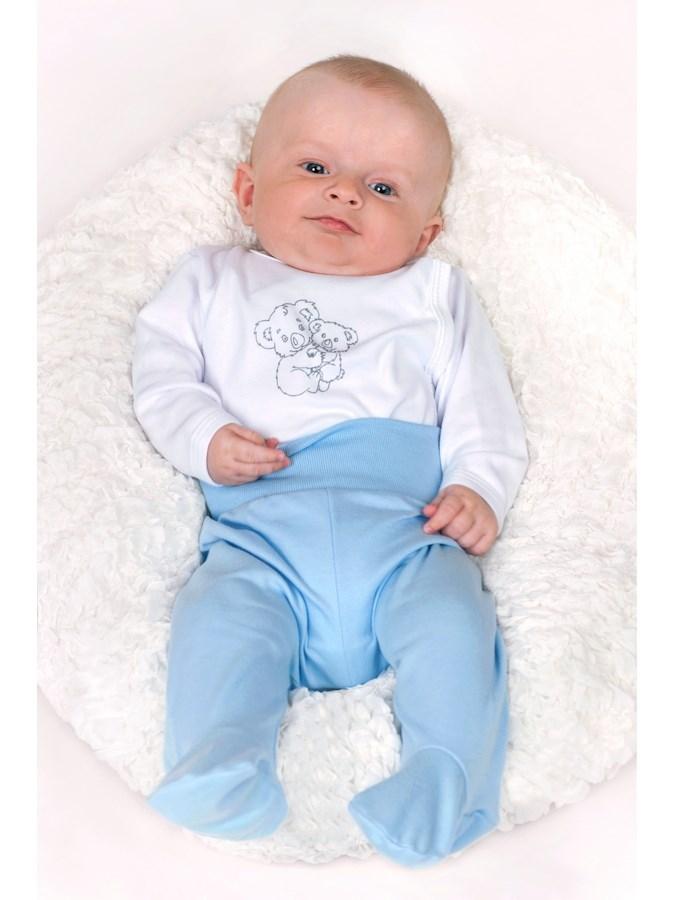 Kojenecké body celorozepínací New Baby Malá Zvířátka béžové, vel. 50