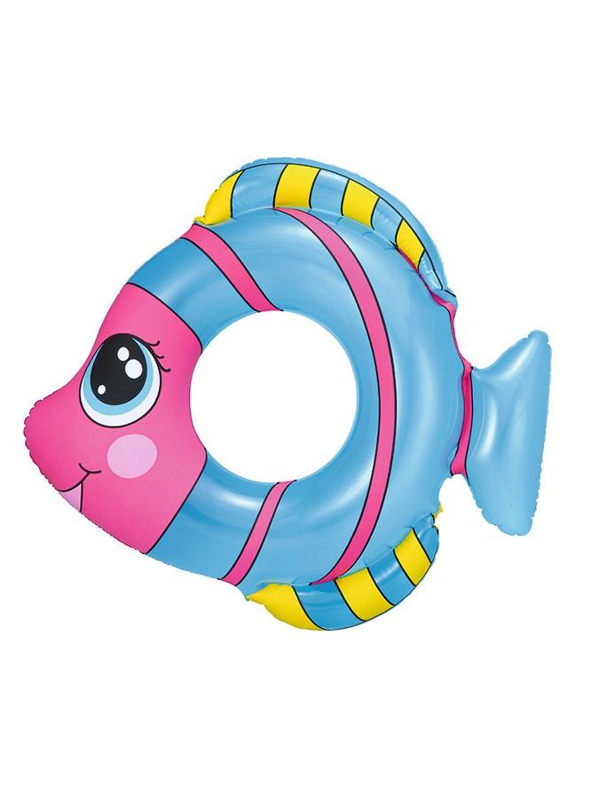 Dětský nafukovací kruh Bestway ve tvaru rybky modrý