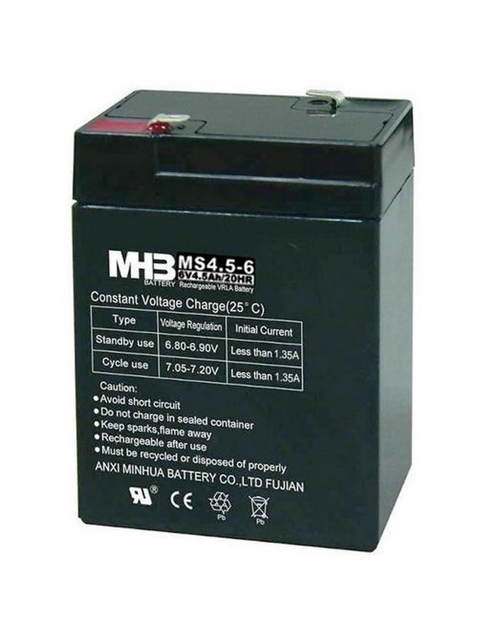 Pb akumulátor MHB VRLA AGM 6V/4,5Ah