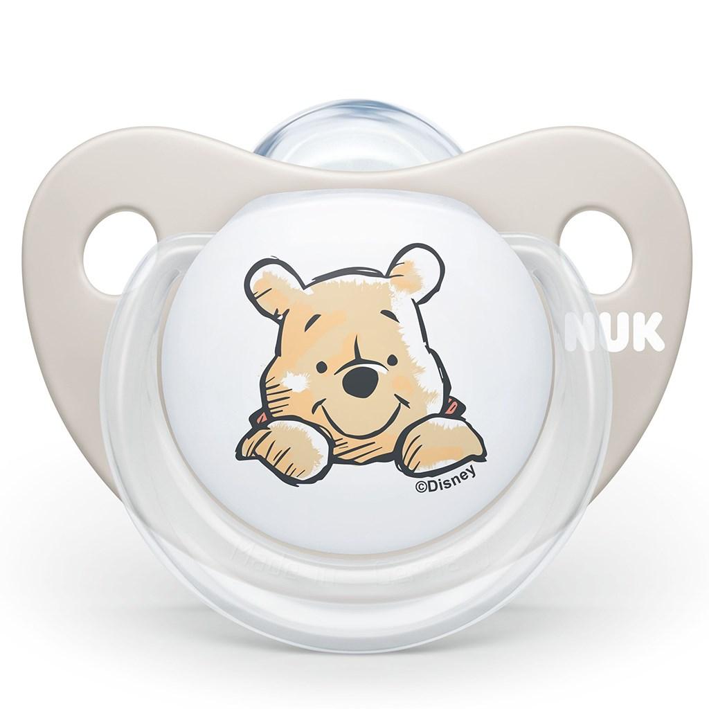 Šidítko NUK Trendline Medvídek Pú Disney 6-18m béžové BOX