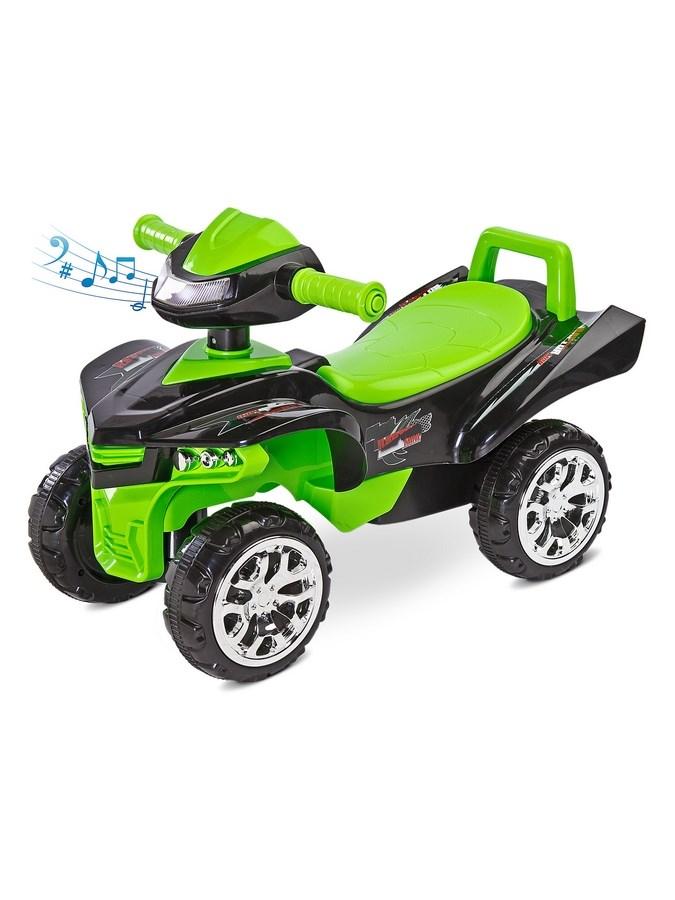 Odrážedlo čtyřkolka Toyz miniRaptor zelené