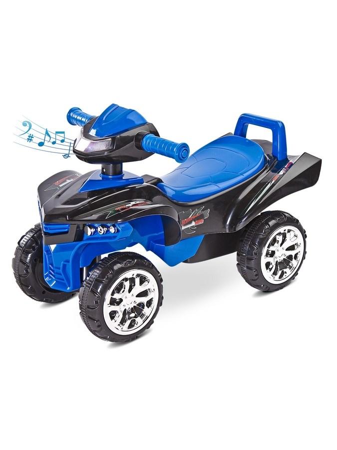 Odrážedlo čtyřkolka Toyz miniRaptor modré