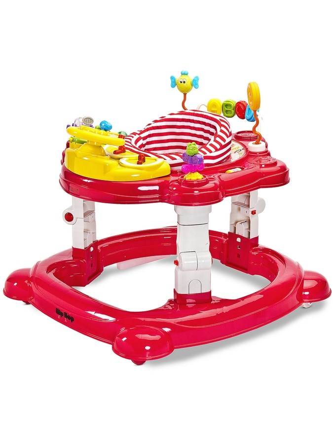 Dětské chodítko Toyz HipHop 3v1 červené