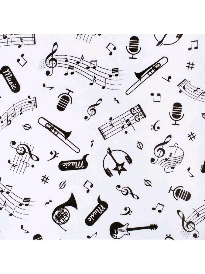 Kojenecká bavlněná čepička New Baby Music