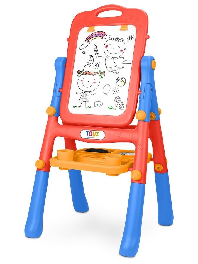 Oboustranná edukační tabule Toyz red