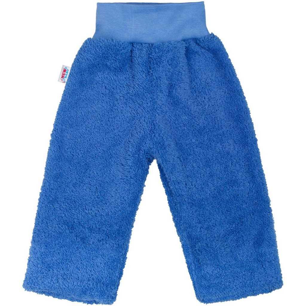 Zimní dětské tepláčky New Baby Ušáček modré