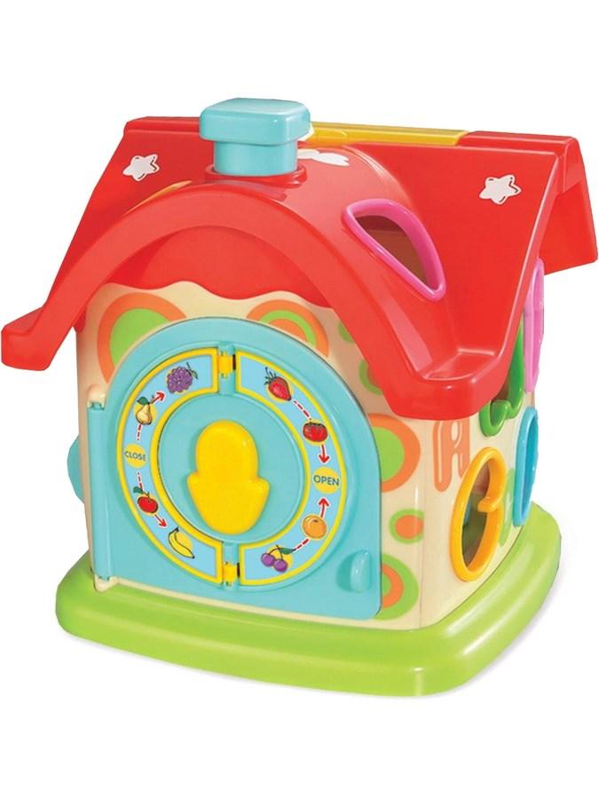 Edukační hračka Baby Mix zábavný domeček