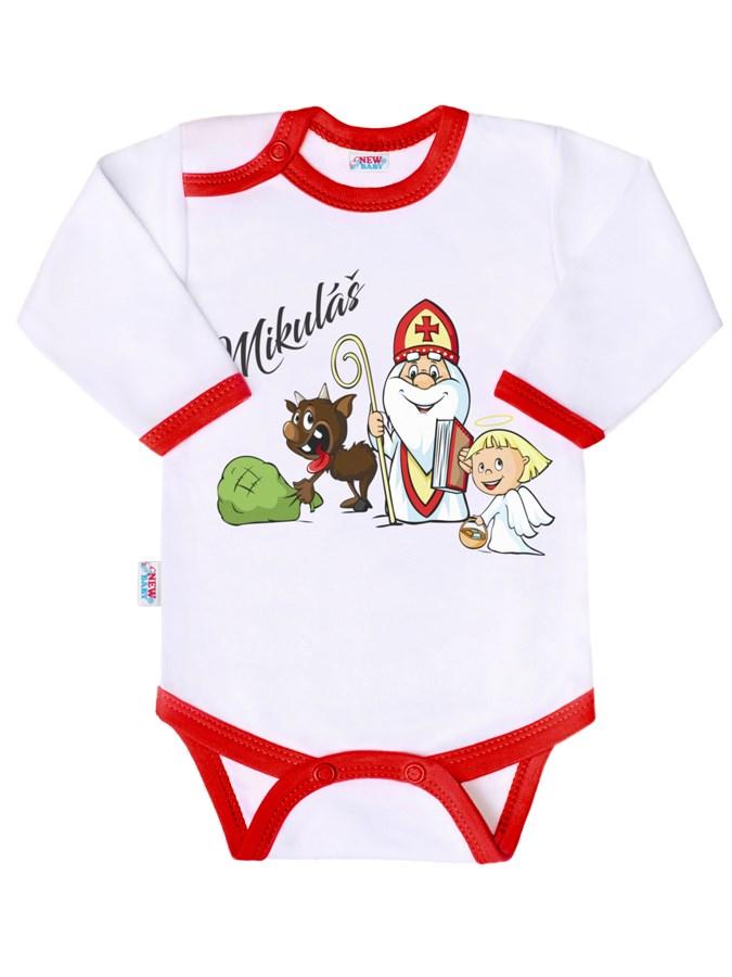 Body s potiskem New Baby Mikuláš vel. 86 (12-18m)