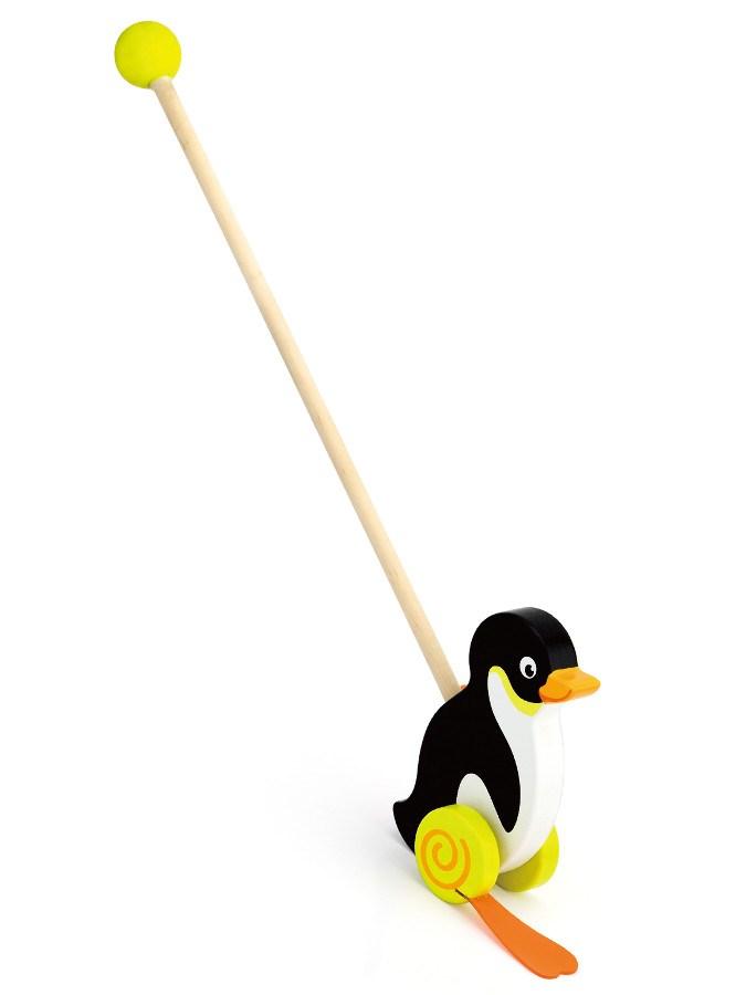 Dřevěná jezdící hračka Viga tučňák