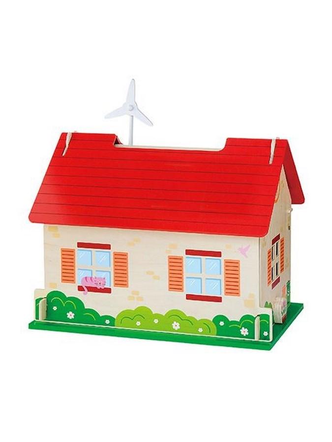 Dětský dřevěný EKO domeček pro panenky Viga