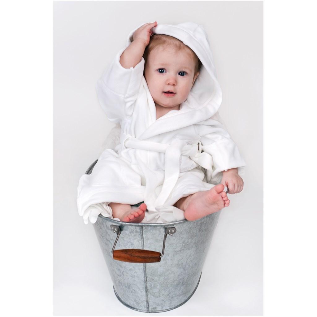 Dětský župan New Baby Sovičky hnědý