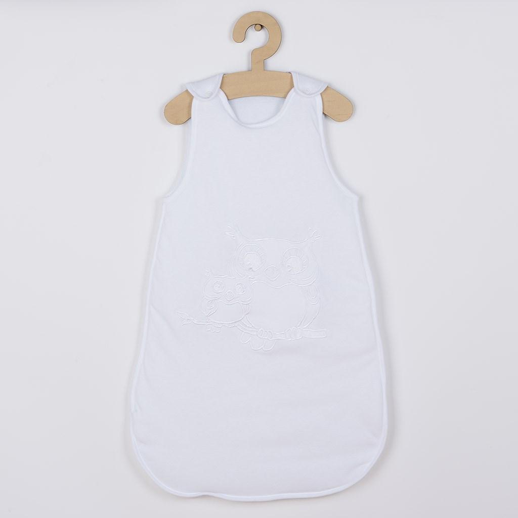Spací pytel New Baby Sovičky bílý, Velikost: 104 (3-4r)