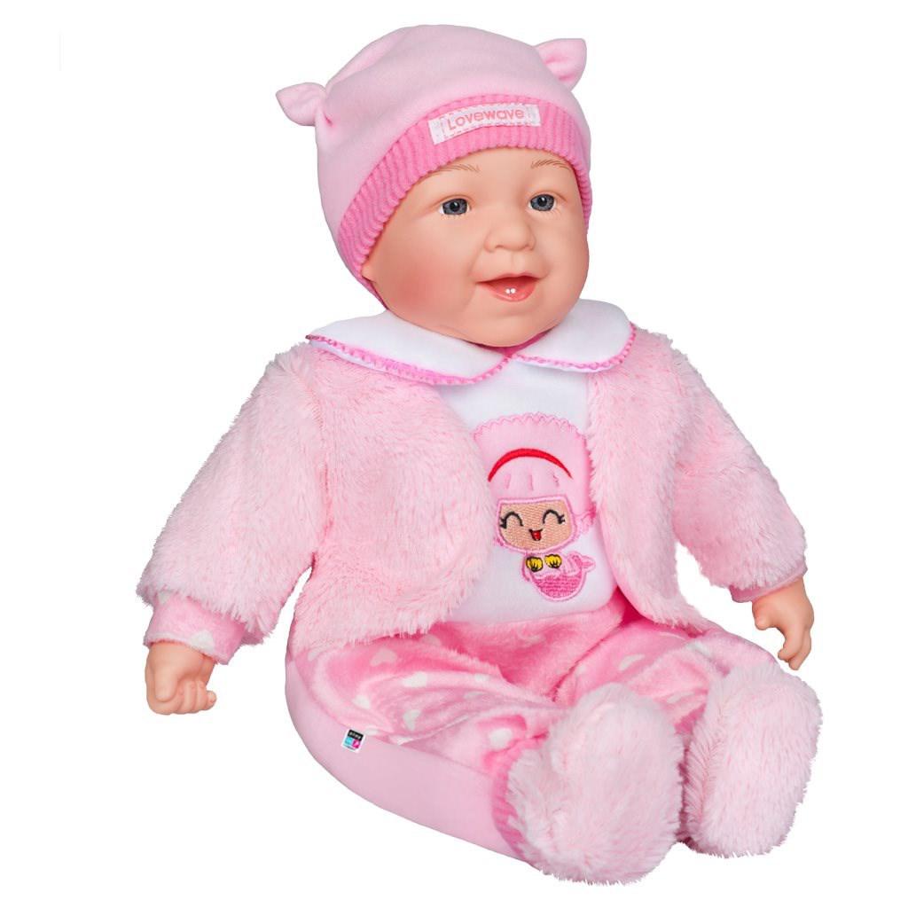 Slovensky mluvící a zpívající dětská panenka PlayTo Kristínka 46 cm