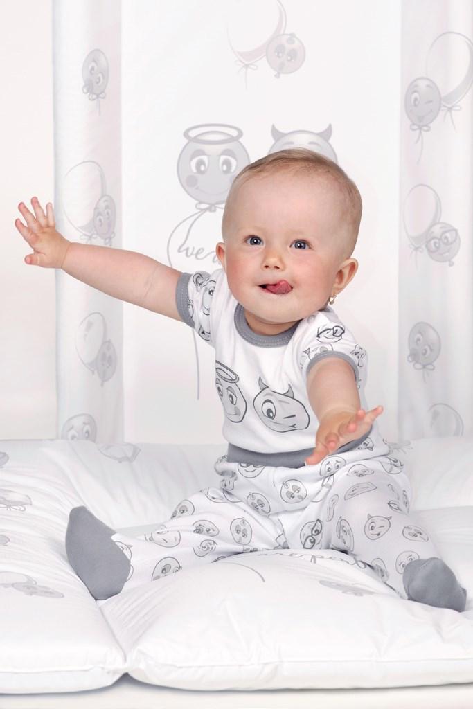 Přebalovací podložka New Baby Emotions bílá 80x50cm