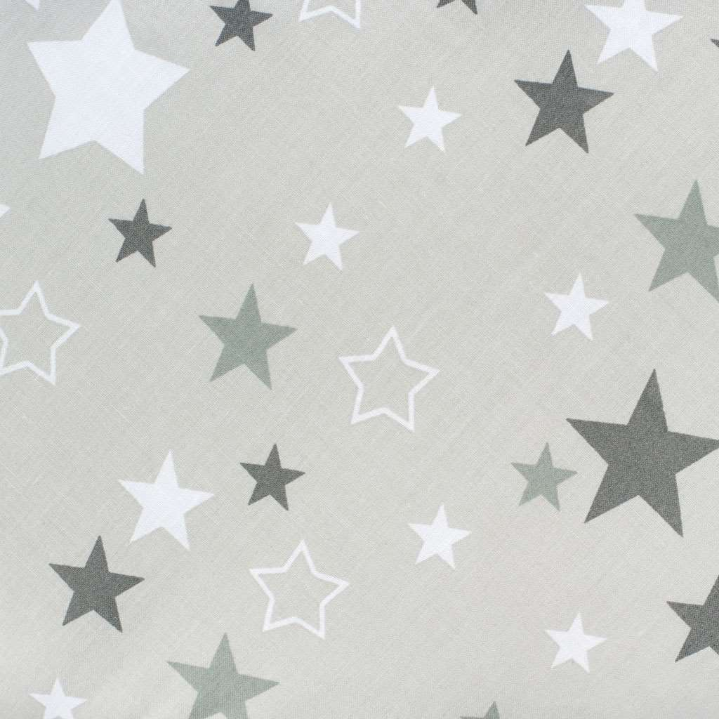 Klasická šněrovací zavinovačka New Baby šedá hvězdičky šedé