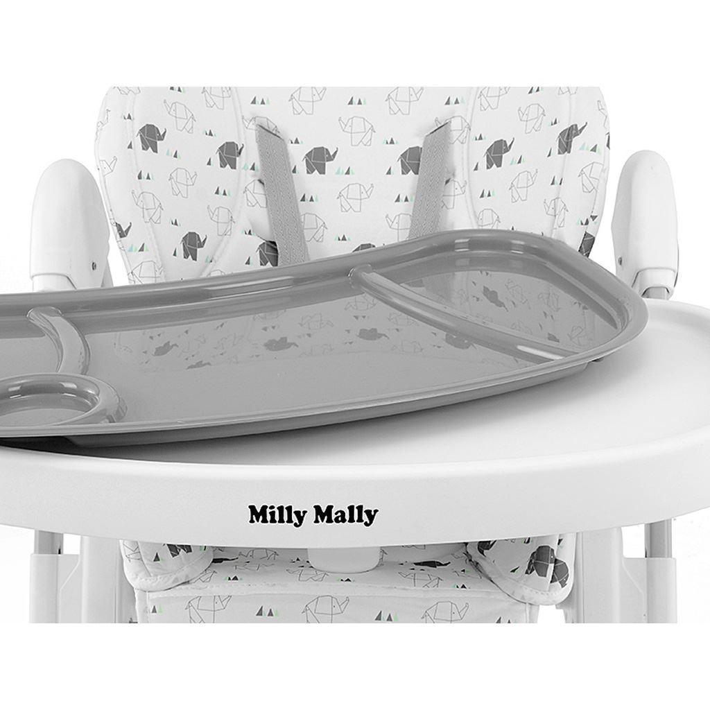 Jídelní židlička Milly Mally Milano Sky