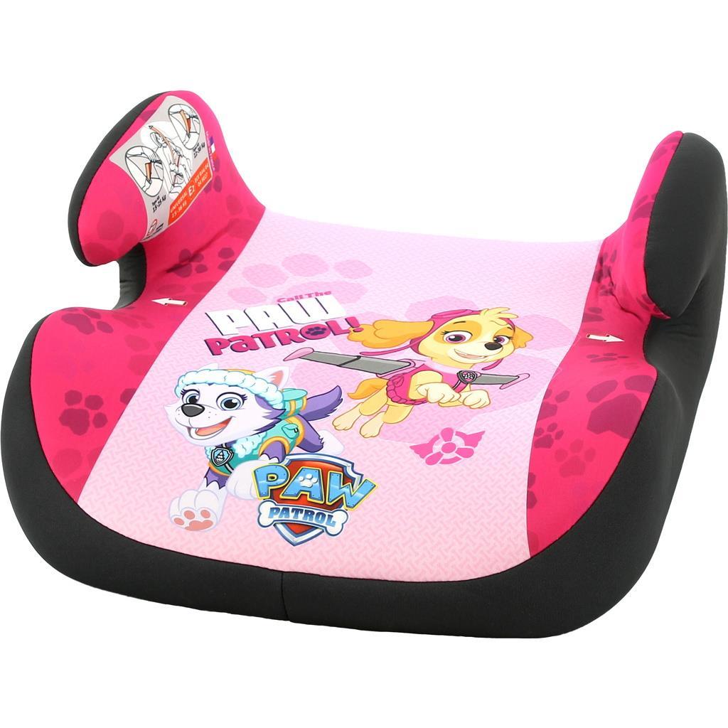 Autosedačka-podsedák Nania Topo Comfort Paw Patrol 2017 pink