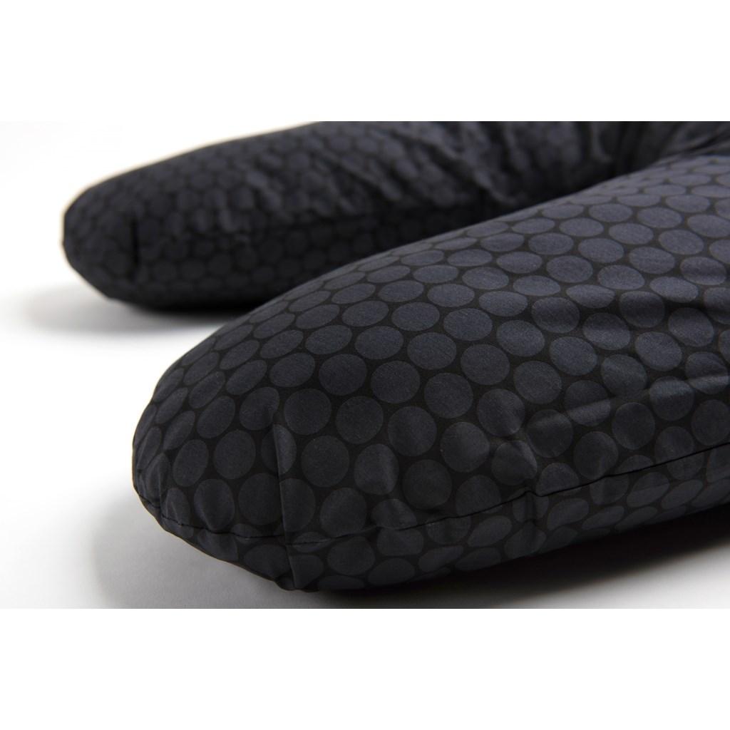 Univerzální kojící polštář Womar černo-grafitový