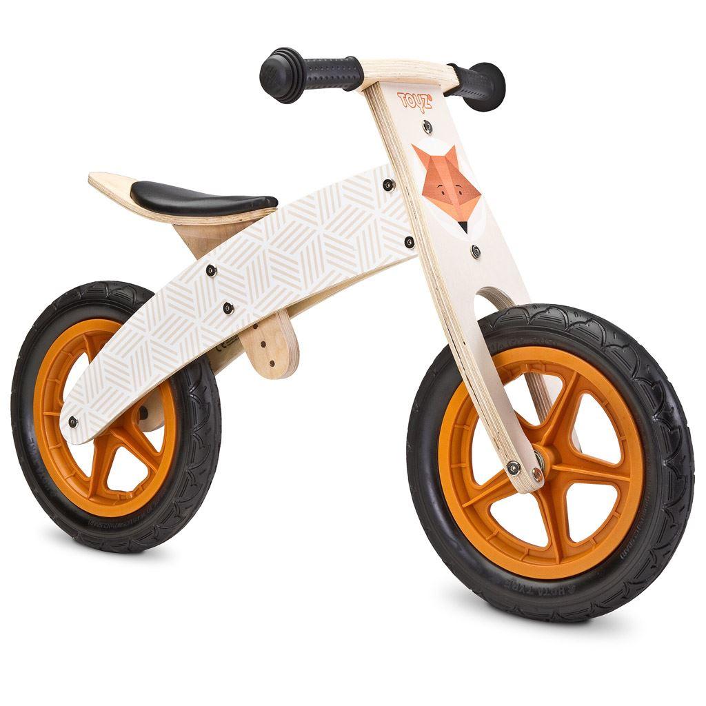 Dětské odrážedlo kolo Toyz Woody beige