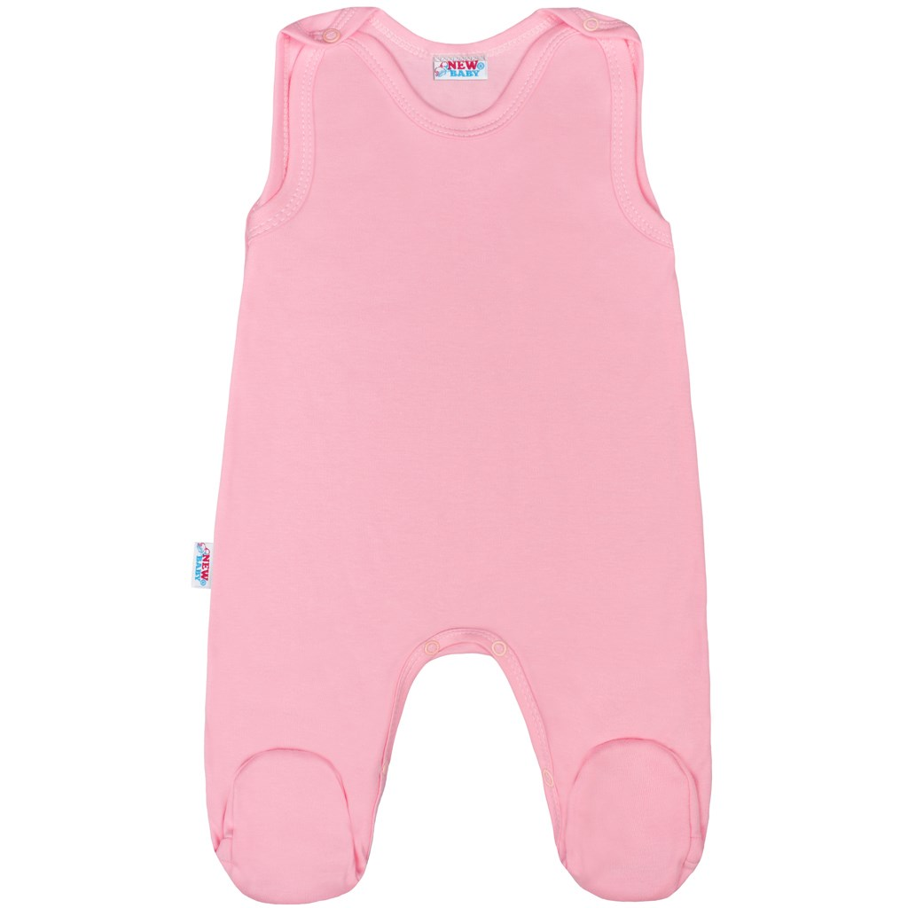 Kojenecké dupačky New Baby Classic II růžové, Velikost: 56 (0-3m)