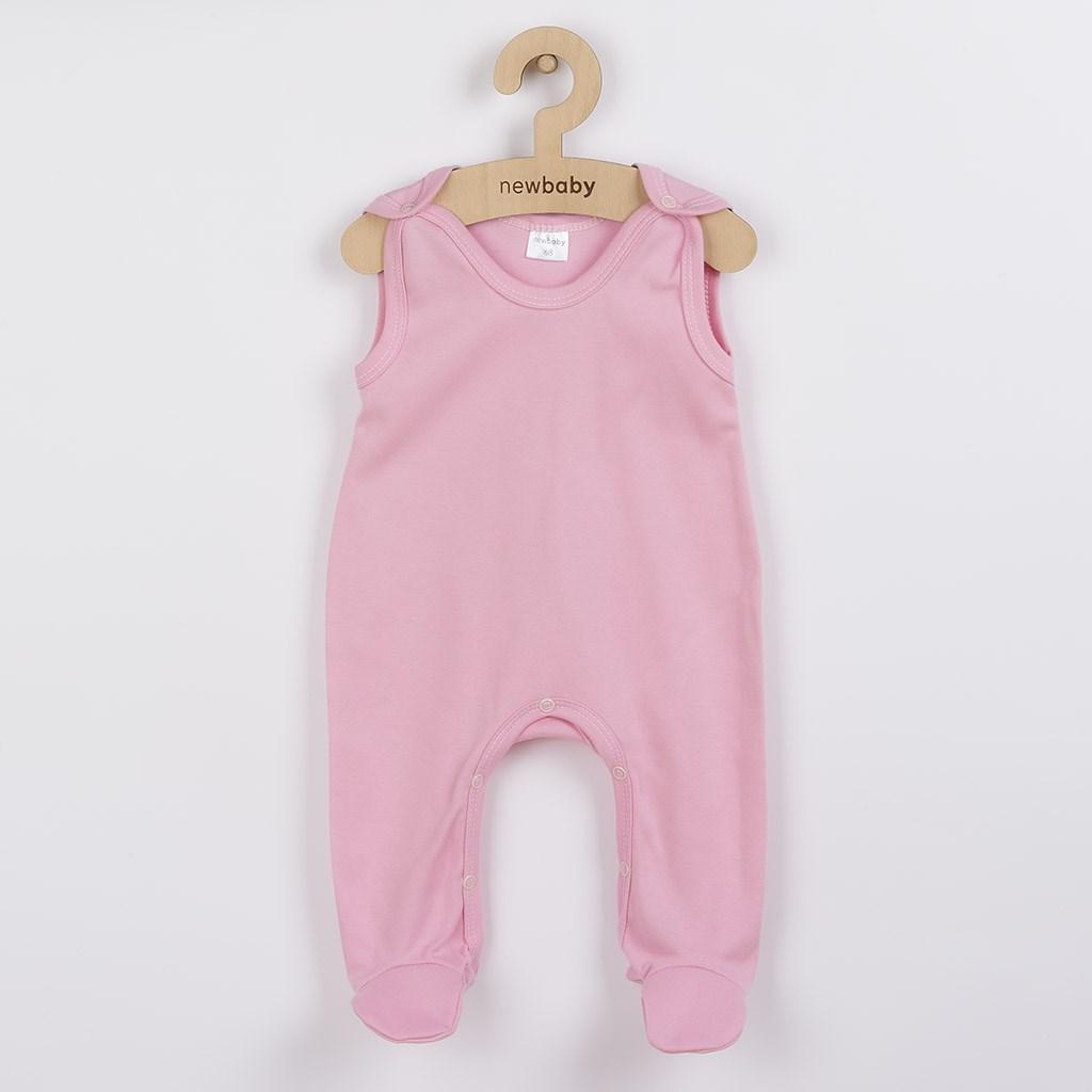 Kojenecké dupačky New Baby Classic II růžové vel. 68 (4-6m)