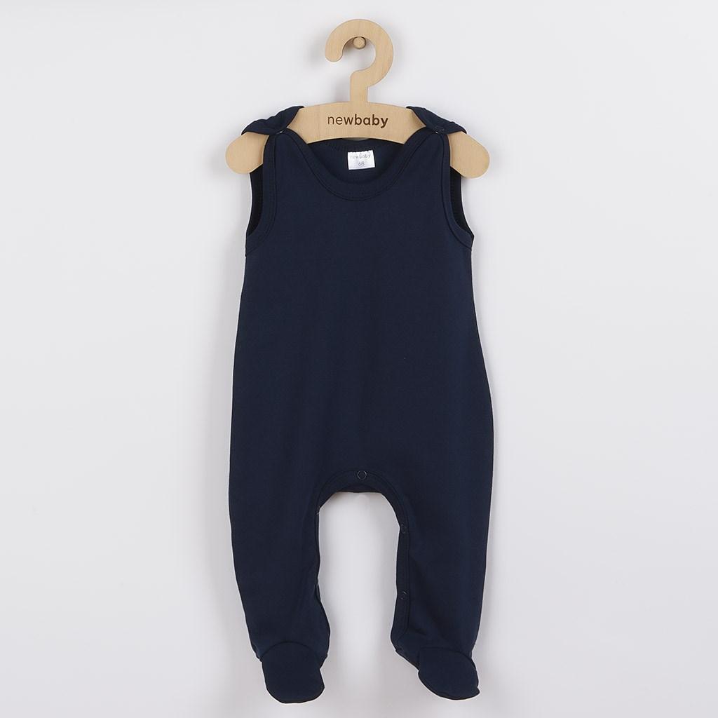 Kojenecké dupačky New Baby Classic II tmavě modré vel. 74 (6-9m)