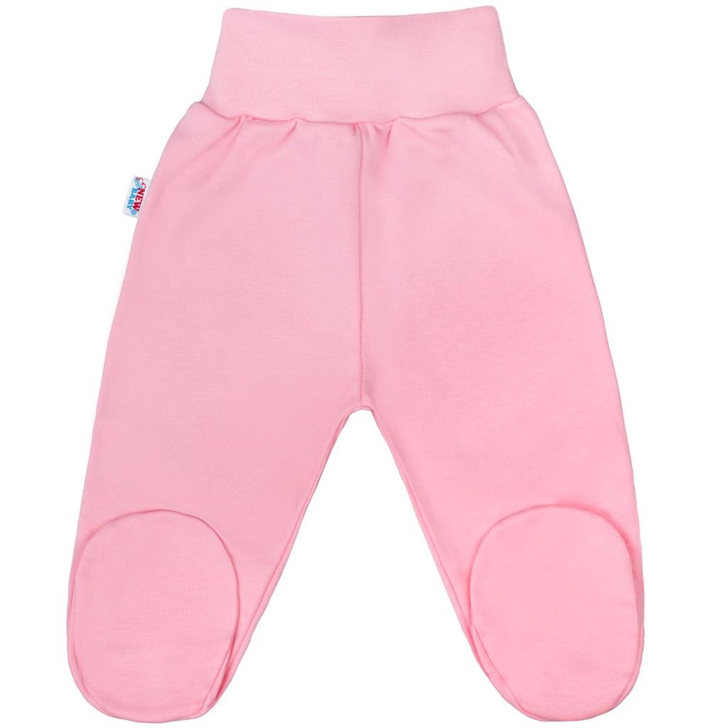 Kojenecké polodupačky New Baby Classic II růžové vel. 56 (0-3m)