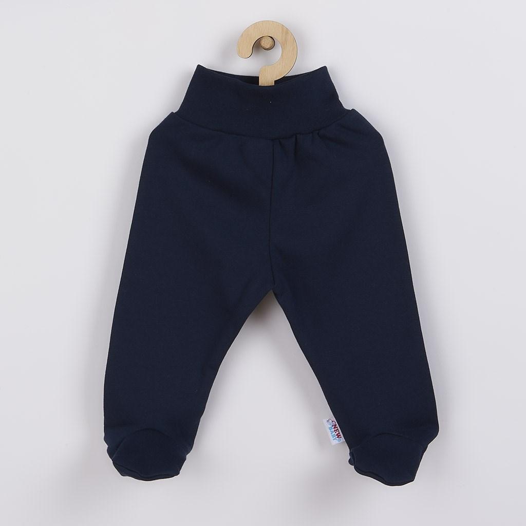 Kojenecké polodupačky New Baby Classic II tmavě modré vel. 56 (0-3m)