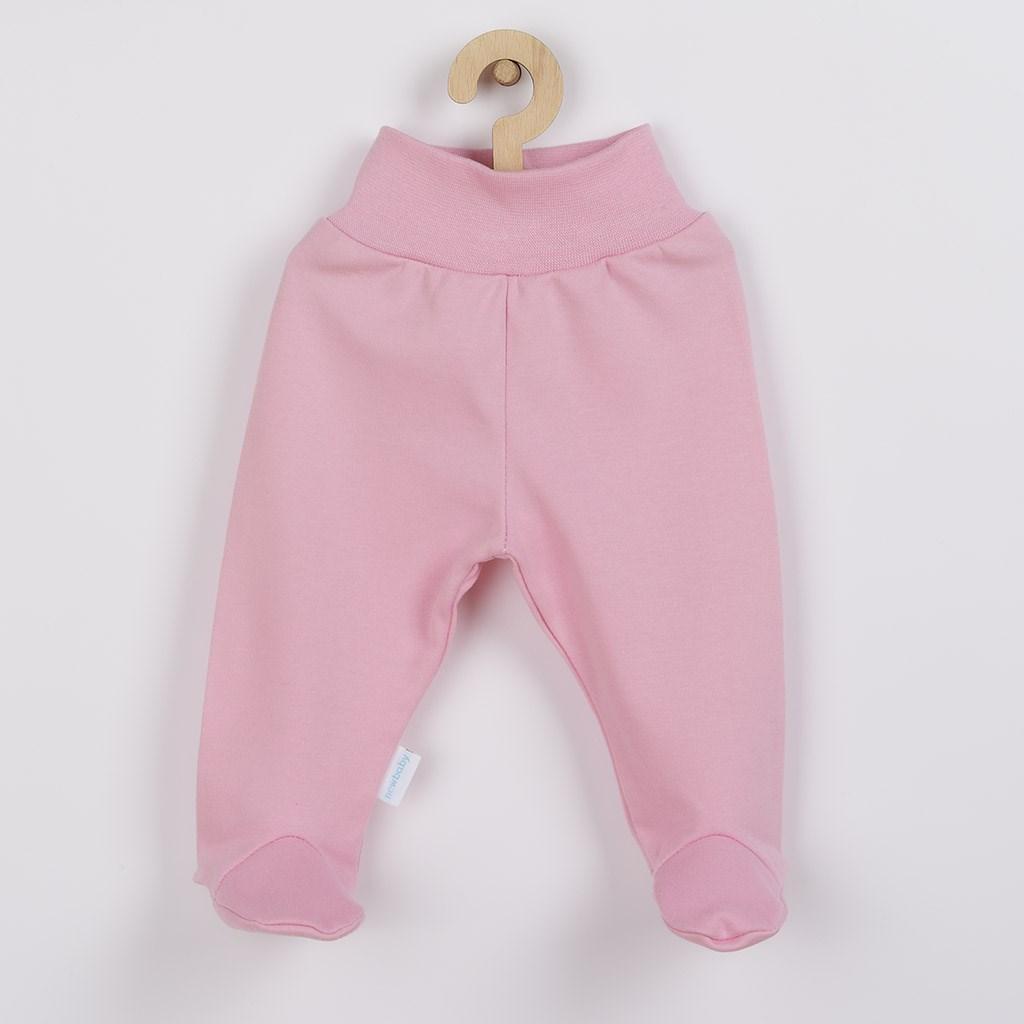 Kojenecké polodupačky New Baby Classic II růžové vel. 74 (6-9m)