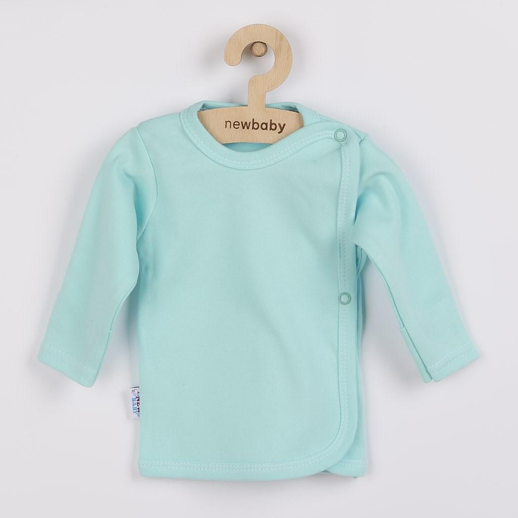 Kojenecká košilka New Baby Classic II mátová vel. 50