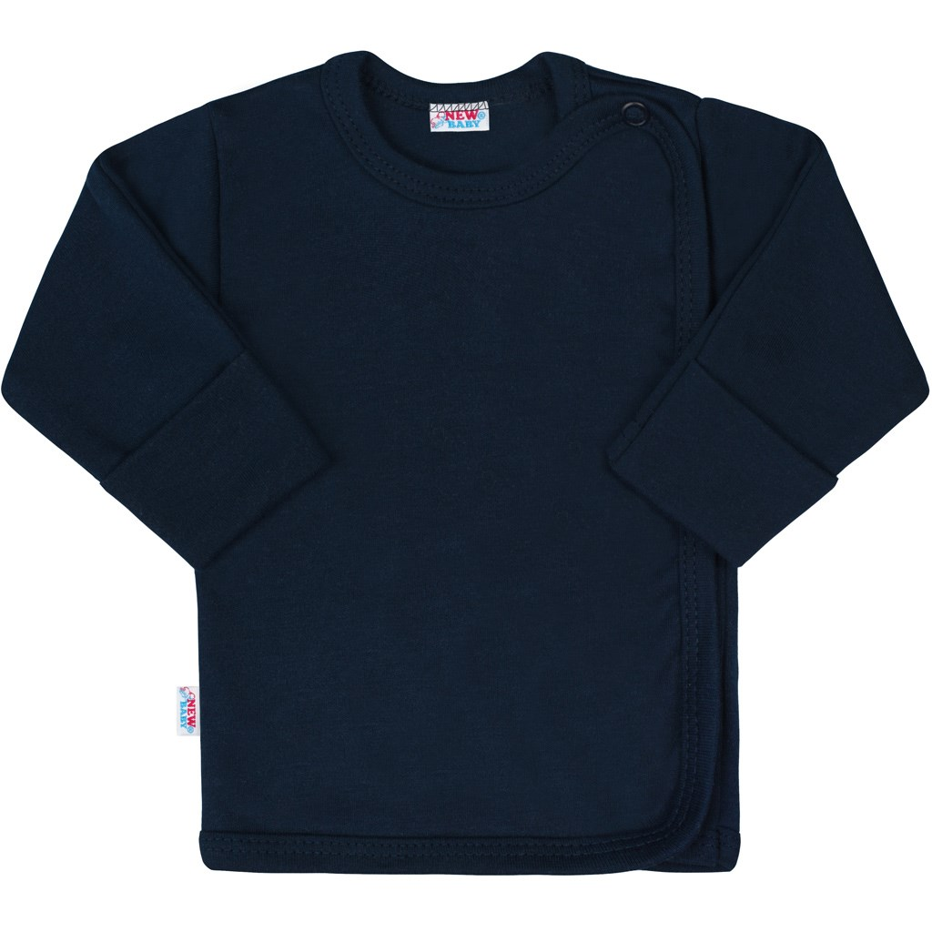 Kojenecká košilka New Baby Classic II tmavě modrá-50