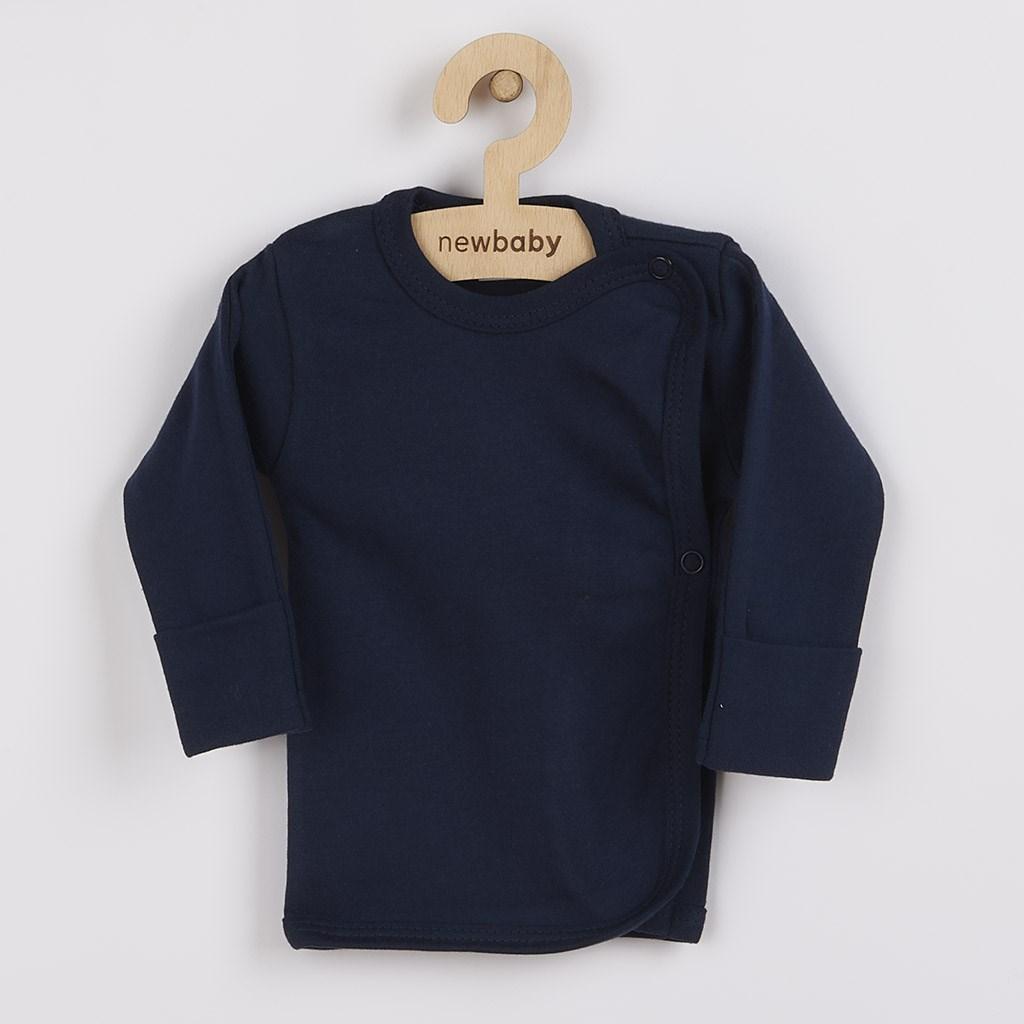Kojenecká košilka New Baby Classic II tmavě modrá vel. 50