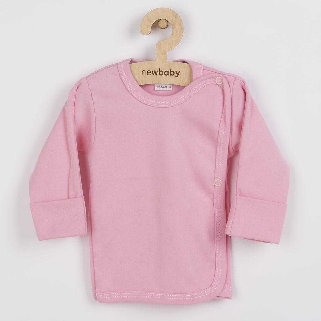 Kojenecká košilka New Baby Classic II růžová-56 (0-3m)