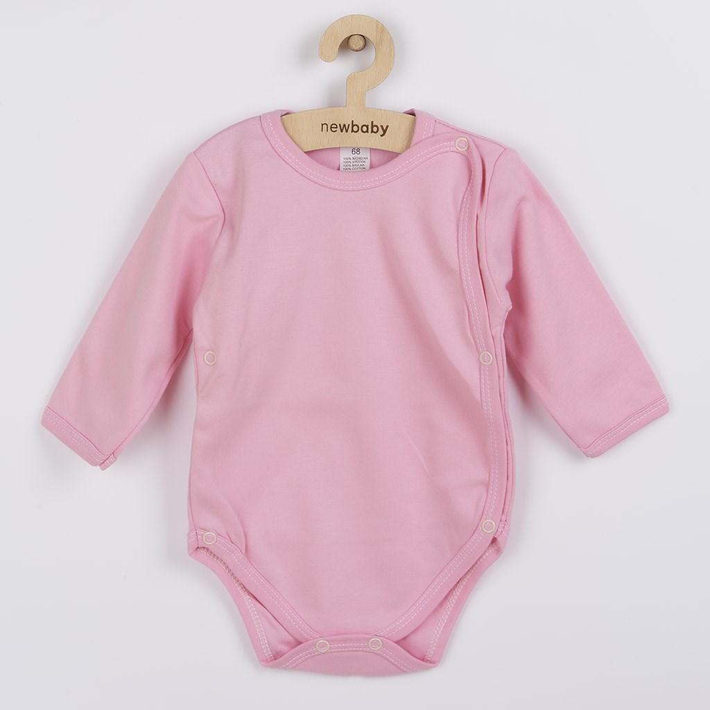 Body zavinovací New Baby Classic II růžové, vel. 68