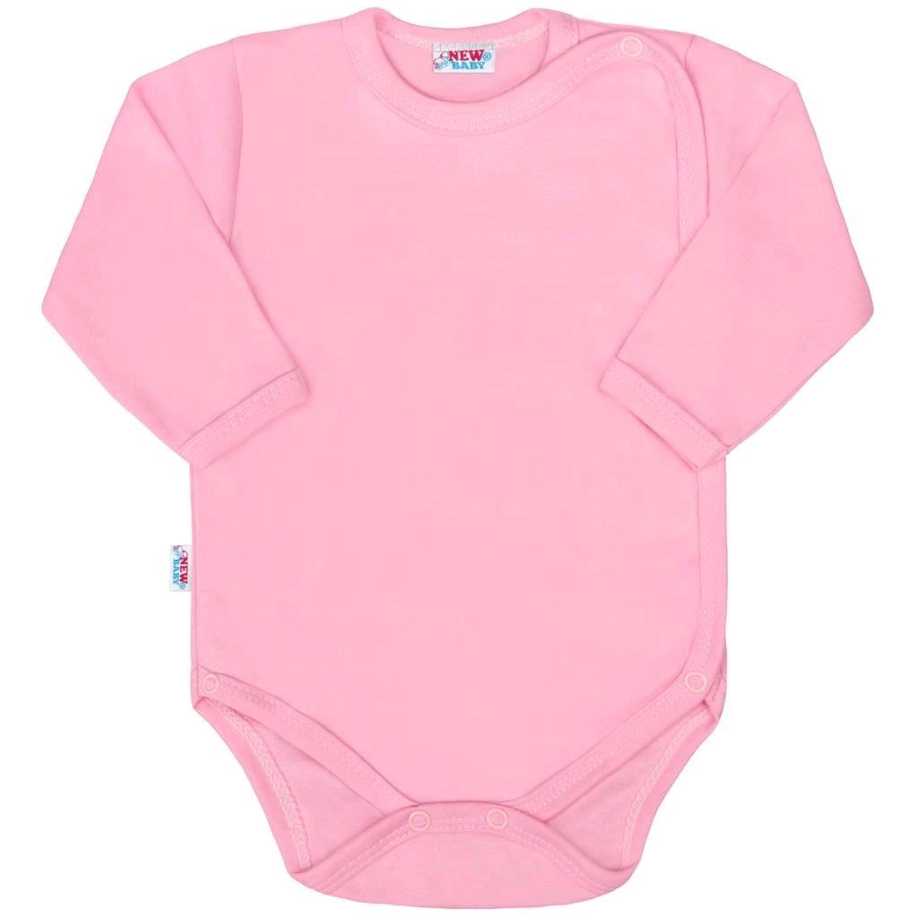 Body zavinovací New Baby Classic II růžové, vel. 74