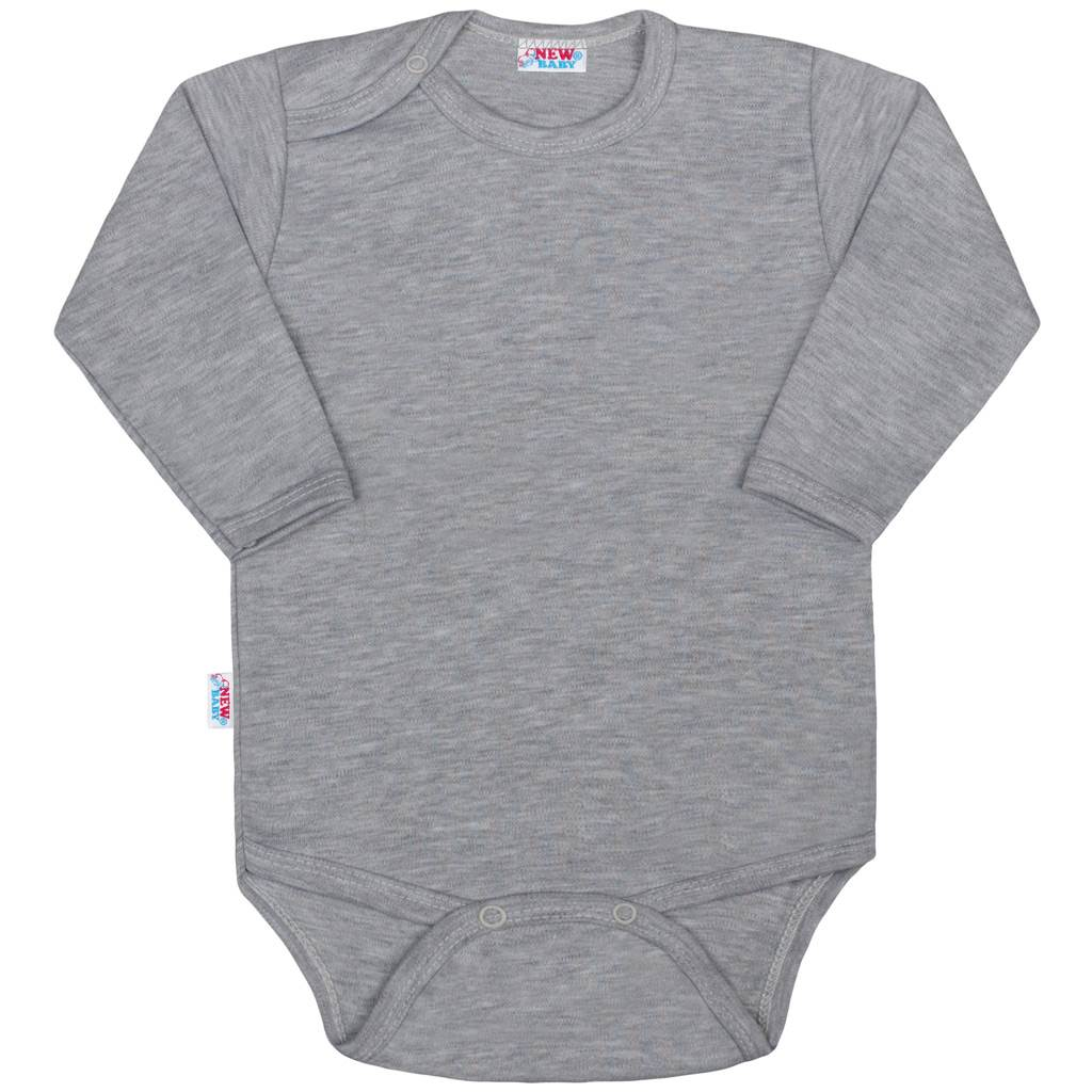Kojenecké body New Baby Classic II šedé