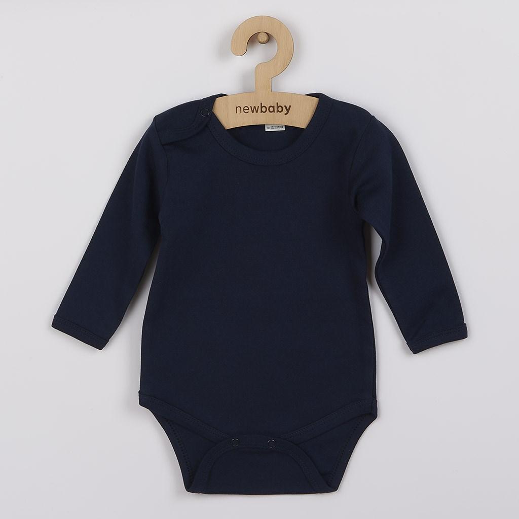 Kojenecké body New Baby Classic II tmavě modré