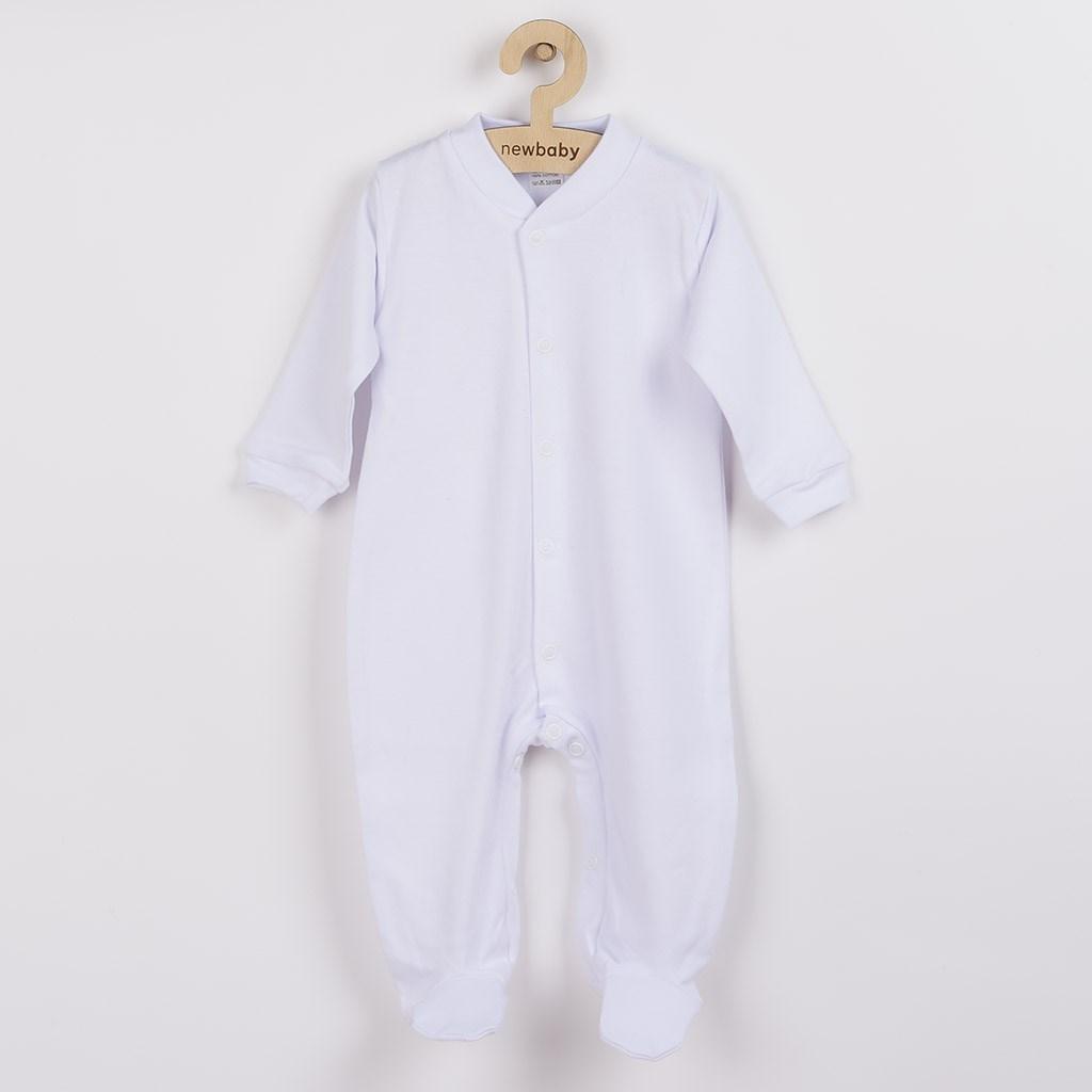 Kojenecký overal New Baby Classic bílý, Velikost: 62 (3-6m)