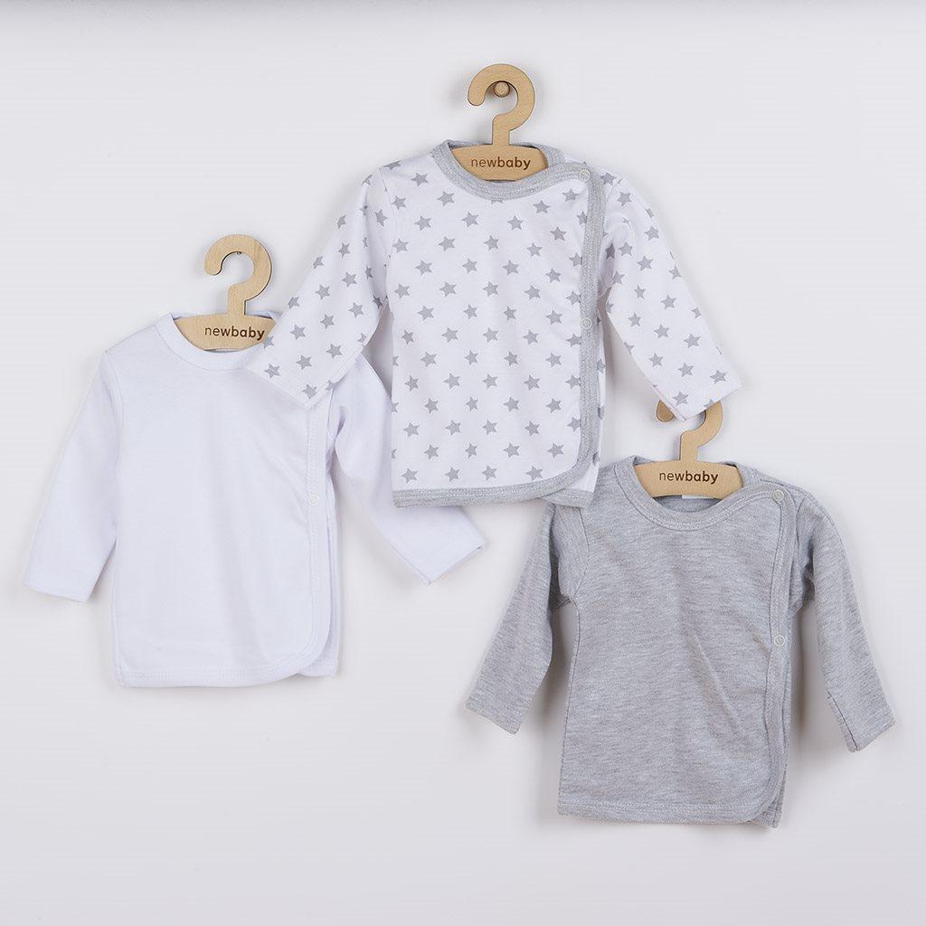 Kojenecká košilka New Baby Classic II Uni 3ks