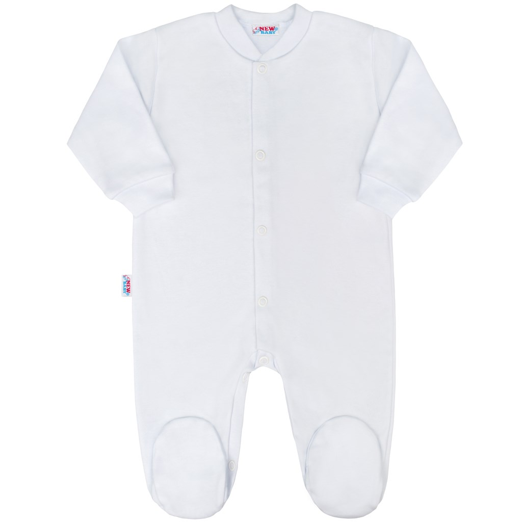 Kojenecký overal New Baby Classic bílý-86 (12-18m)