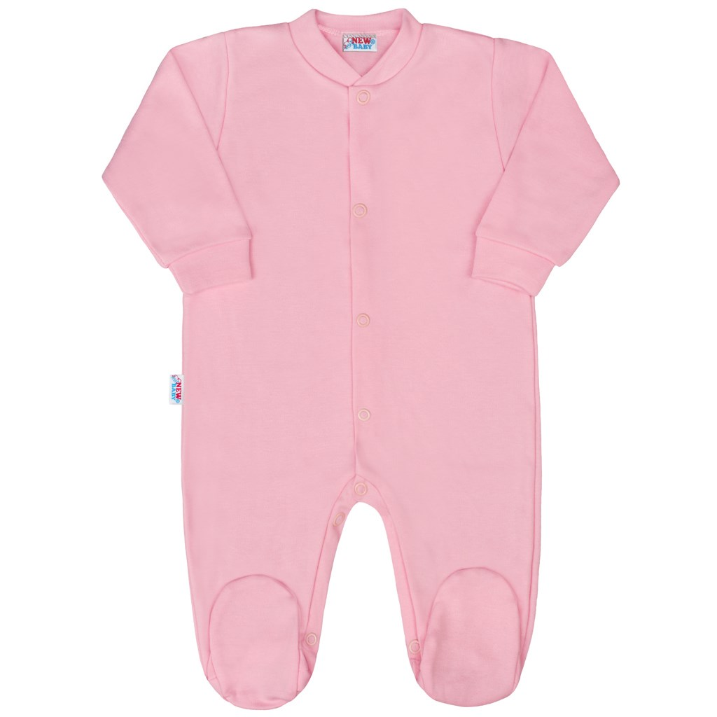 Kojenecký overal New Baby Classic II růžový vel. 50