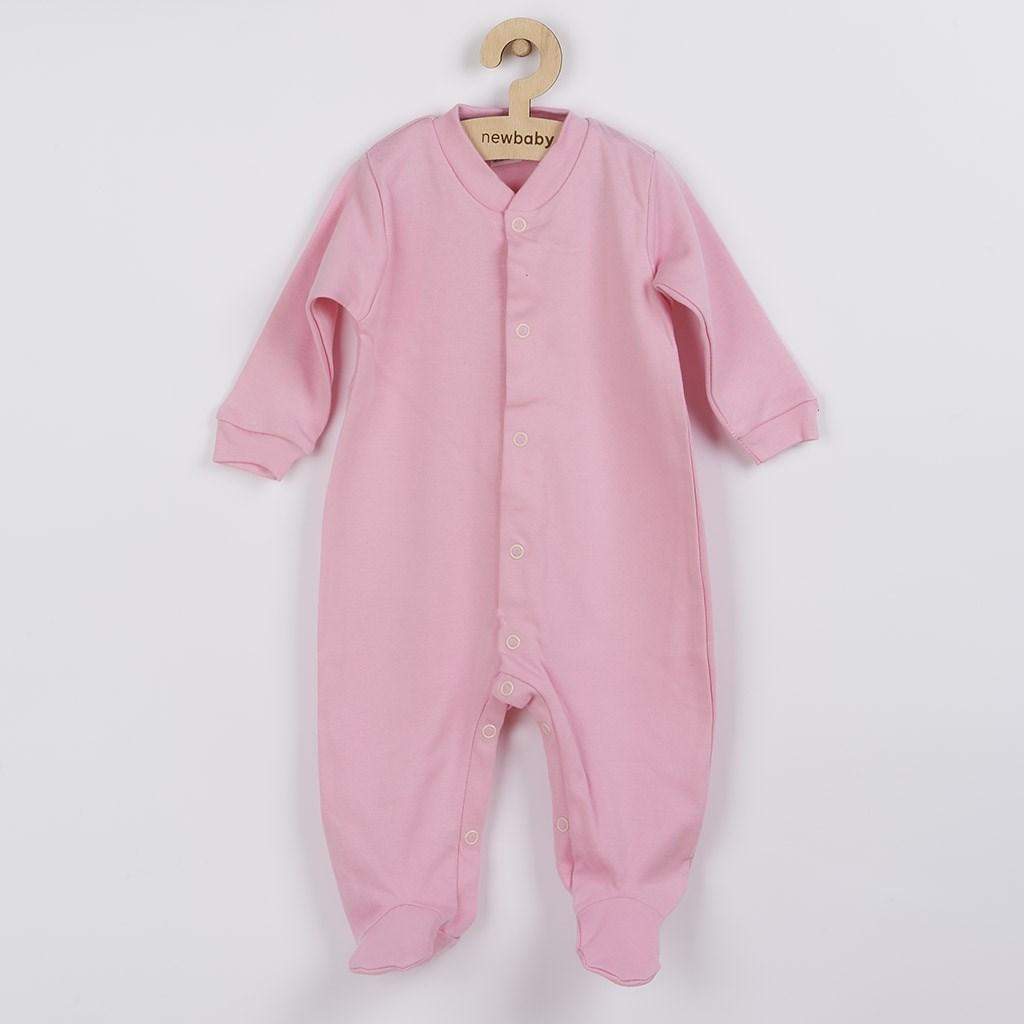 Kojenecký overal New Baby Classic II růžový, Velikost: 56 (0-3m)