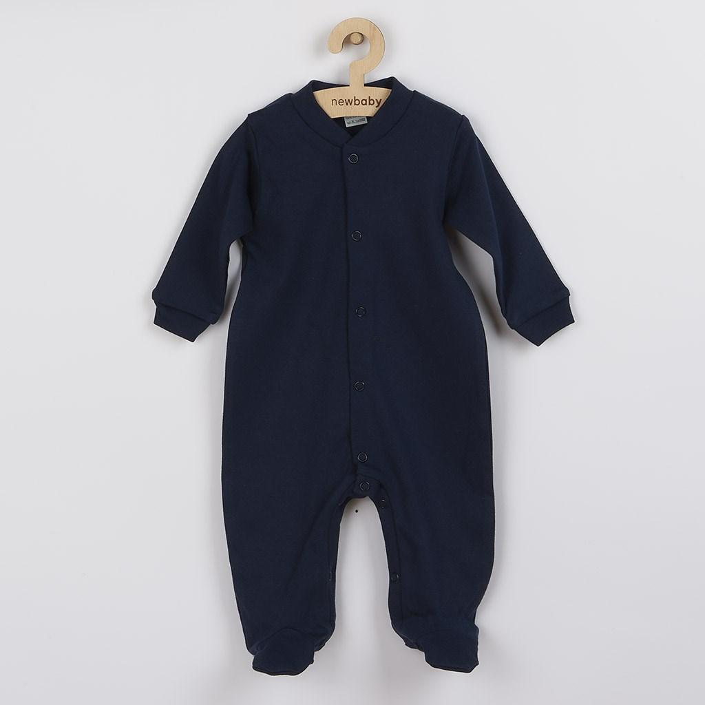 Kojenecký overal New Baby Classic II tmavě modrý, Velikost: 56 (0-3m)