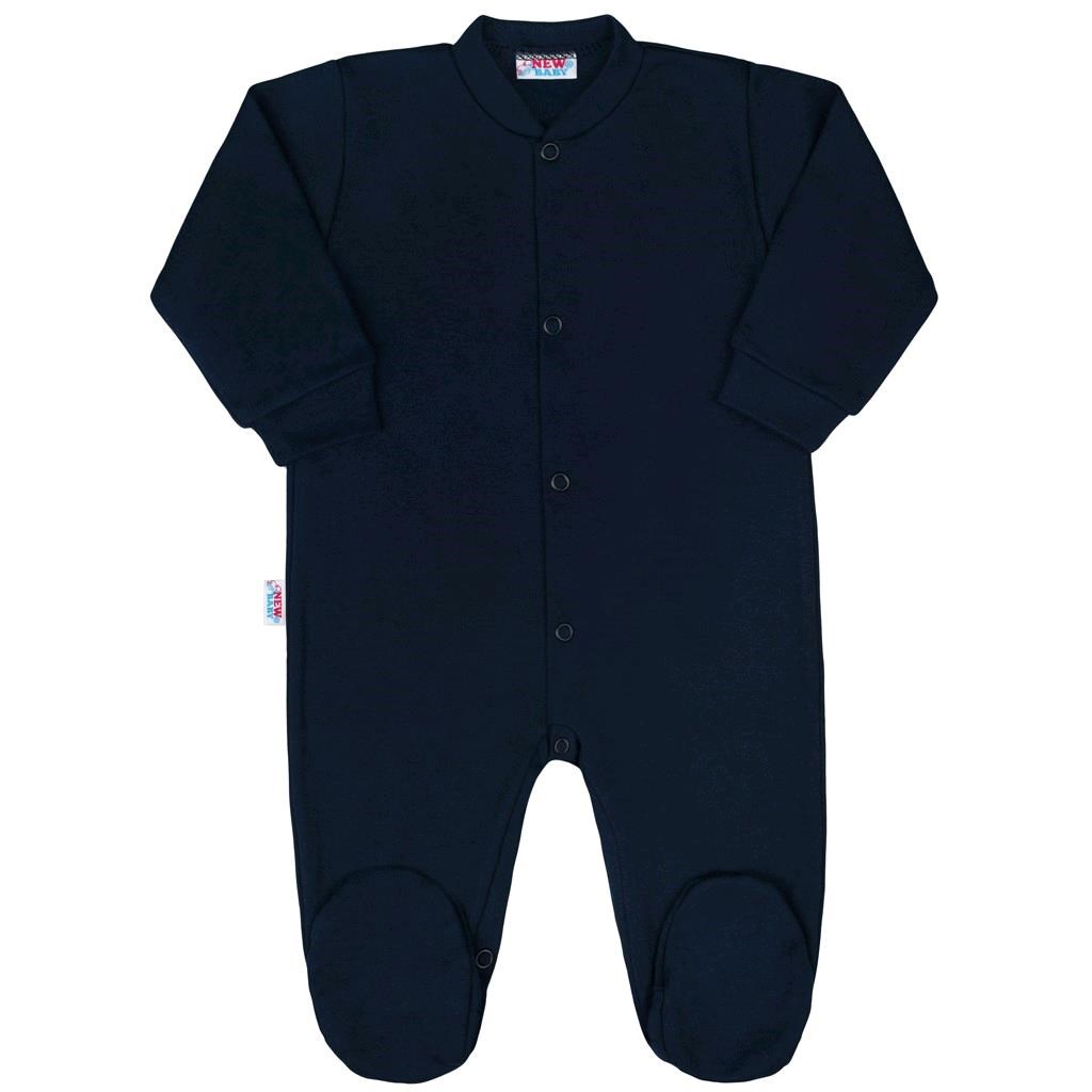 Kojenecký overal New Baby Classic II tmavě modrý vel. 56 (0-3m)