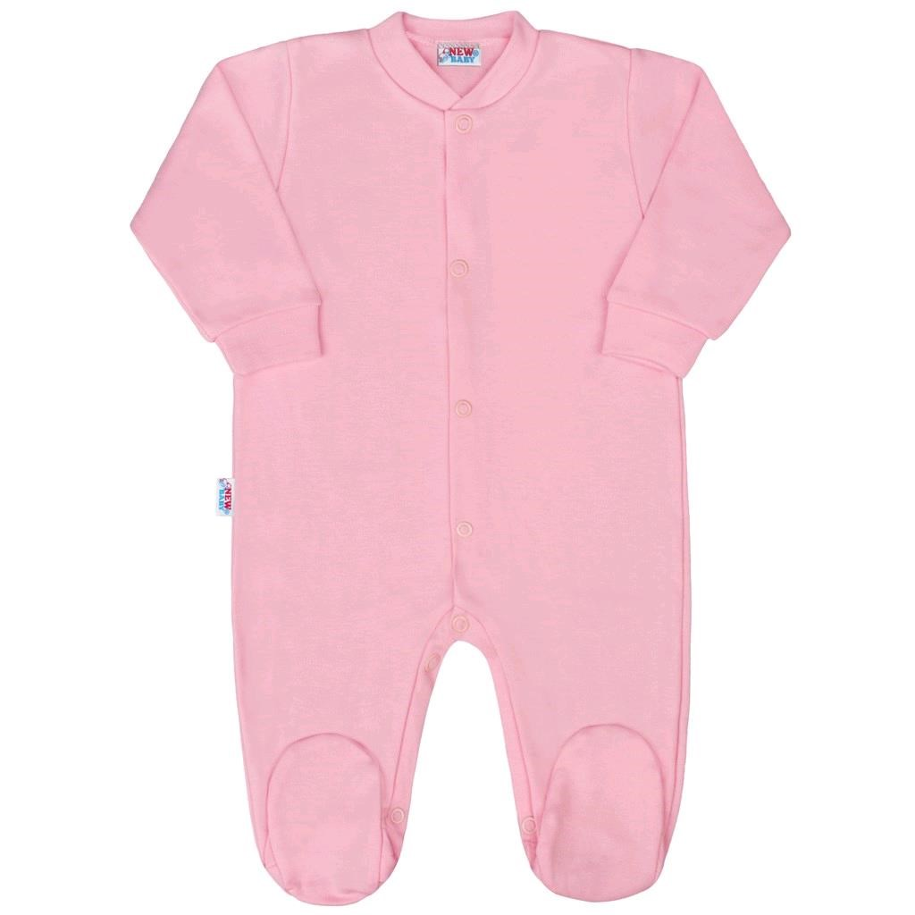 Kojenecký overal New Baby Classic II růžový, Velikost: 62 (3-6m)